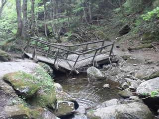 岩井滝の橋